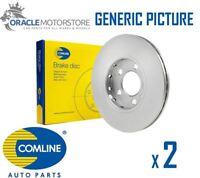 NEW COMLINE FRONT BRAKE DISCS SET BRAKING DISCS PAIR GENUINE OE QUALITY ADC0194V