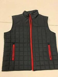 Sonic Drive In Brand Apparel Denver Convention Black Puffer Vest Men's XL