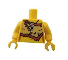 Lego Torso TRONCO neandertal ( Cueva mujer) Serie 5 EDAD DE PIEDRA 973pb0933c01