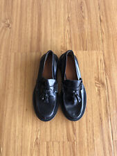Céline Patent Leather Round-Toe Loafers