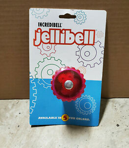 Mirrycle Incredibell Jellibell Bicycle Bell - Strawberry/pink