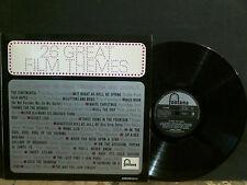 Gordon Jenkins   26 Great Film Themes   LP     TV Flim themes    Lovely copy !!