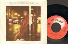 """CHRIS REA  I Can Hear Your Heart Beat SINGLE 7"""" Love to Love 1983"""