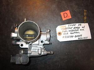06 Scion Xb Drossell Karosserie/Einspritzverfahren Air Idle Control #2227021011