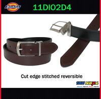 NEW Dickies Men's 35mm Reversible Belt 11DI02D4 BLACK / BROWN 32-52