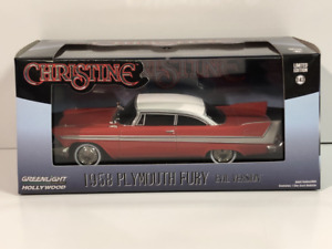 Christine Evil Version 1958 Plymouth Fury 1:43 Scale Greenlight 86575