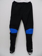 Novara Cycling pants athletic wear REI XL vtg retro USA made black blue bike EUC