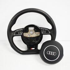 AUDI A3 8V S Line Multifunction Steering Wheel w/ SRS 2013