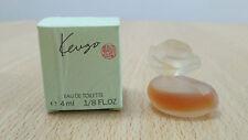 Vintage Kenzo 4ml EDT for Women Mini Miniature Perfume New and Boxed