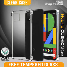 For Google Pixel 4 XL 3 XL 3A XL 2 XL Clear Shockproof Heavy Duty Case Cover