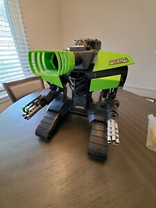 Vintage New Bright Mech High Velocity ROBO CANNON Green Version Excellent CND