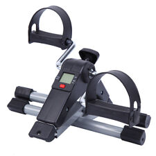 Foldable Exercise Cycle Bike Fitness Mini Pedal Trainer Stepper Gym Digital