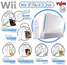 **Yujin Nintendo Wii Game Keychain Gashapon Full Set of 6pcs 2007