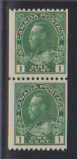 B7386: Canada #131 Mint Pair, OG, F-VF, NH; CV $30+