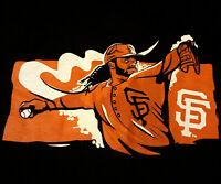 San Francisco Giants Johnny Cueto SGA T Shirt XL EUC MLB Baseball 47 INV912