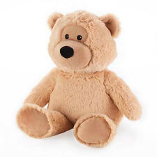 Peluche bouillotte OURS BEIGE SOFRAMAR, micro-onde.
