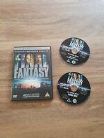 Final Fantasy: The Spirits Within DVD (2002) Hironobu Sakaguchi cert PG 2 discs
