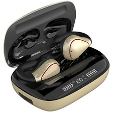 Twins Bluetooth 5.0 Headset True Wireless Headphones Earbuds Earphones Gold