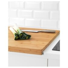 iKEA LÄMPLIG Wooden Large Cutting Chopping Serving Board Two Sides 46x53cm
