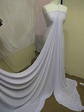 """1M lycra couleur blanche lycra stretch pour tissu large 60"""""""
