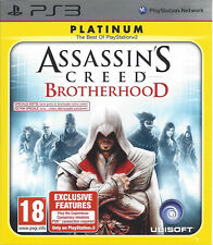ASSASSIN'S CREED BROTHERHOOD for Playstation 3 PS3 - with box & manual