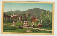 1947 Postmarked Postcard Bicycling One of the Many Sports at Sun Valley Idaho ID