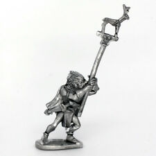 Wood Elf With Standard Warhammer Fantasy Armies 28mm Unpainted Wargames