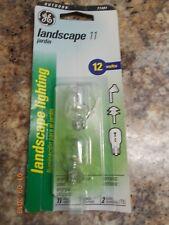 2 New GE 71481 Outdoor Type T5 Landscape 12 Volt 11 Watt Bulbs