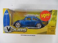 VDubs Jada 1959 Volkswagen Beetle  Metal Die-Cast  1:24 Scale NIB