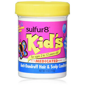 [SULFUR8] KID'S MEDICATED ANTI-DANDRUFF HAIR & SCALP CONDITIONER 4OZ