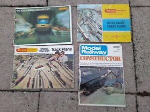 TRIANG HORNBY TRACK PLANS CATALOGUE, BROCHURE, 00 MODEL RAILWAY