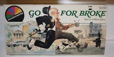 """COMPLETE-1985 Selchow & Righter """"GO FOR BROKE"""" Spend A Million Board game"""