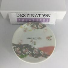 """Hello Kitty Sanrio Japan 6"""" Small Porcelain China Plate Cherry Blossoms"""