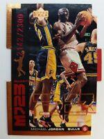 1999 99 MJ23 Upper Deck UD Michael Jordan Quantum Die Cut QMM18 #'d /2300 Bulls