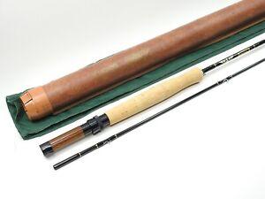 Fenwick Boron X Graphite Fly Rod. 8' 6wt. W/ Tube and Sock. XF 806. USA.