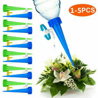 1-5pcs Automatic Irrigation System Drip Water Spikes Flower Plant Watering Tools