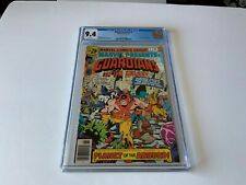 MARVEL PRESENTS 5 CGC 9.4 WHITE PAGES GUARDIANS OF THE GALAXY MARVEL COMICS 1976