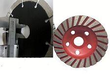 "5"" 125mm Turbo Coarse Cup Wheel 2 Diamond Cutting Blade Concrete Sander Granite"