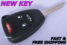 OEM JEEP LIBERTY keyless entry master remote fob transmitter +NEW KEY CASE