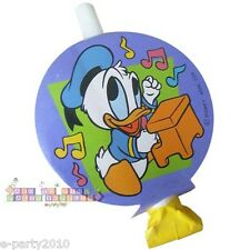 (8) DISNEY BABIES 1st Birthday Tunes DONALD DUCK BLOWOUTS ~ First Party Supplies