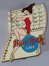 Hard Rock Cafe Baltimore March 1999 Calendar Girl Nicole  Sexy girl HRC pin