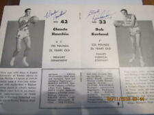1950 Signed Phillips 66 Basketball  Yearbook - signed by 11 players JSA