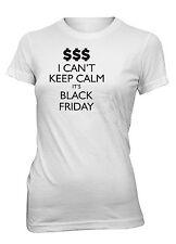 Hot4TShirts Juniors I Can't Keep Calm It's Black Friday T-Shirt Shopping Deals
