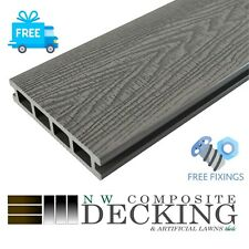 More details for ⚡️sale⚡️deep embossed composite decking 3.6m⚡️free fixings & delivery included
