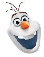 Olaf Frozen Pappmaske NEU - Karneval Fasching Maske Gesicht