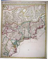Antique map, Nova tabula geographica complectens borealiorem Americae