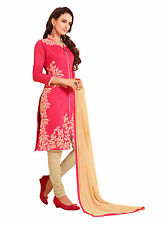 DnVeens Women Exclusiv Embrodery Unstiched Party Wear Salwar Suit Dress Material