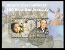 Micronesia 2005 -ROTARY INTERNATIONAL/100 YEAR ANNIVERSARY SHEET OF 3 STAMPS MNH