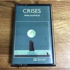 MIKE OLDFIELD CRISES Cassette Tape