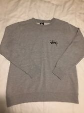 Stussy Sweatshirt Grey Small
